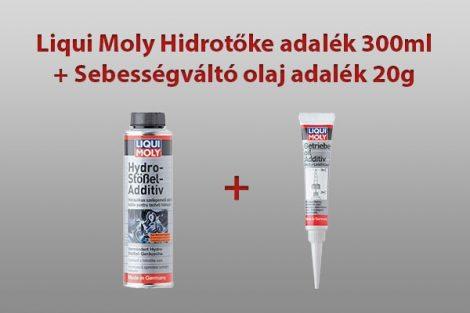 Liqui Moly Hidrotóke tisztító adalék- Sebességváltó olaj adalék 20g