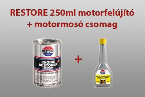 RESTORE 250ml motorfelújító csomag