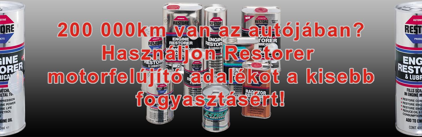 Restore 400ml motorfelújító adalék