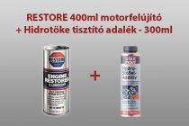 RESTORE 400ml motorfelújító + Hidrotőke tisztító adalék - 300ml