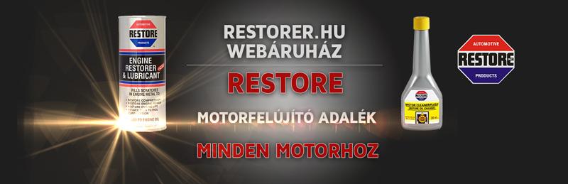 Restore motorfelújító adalék